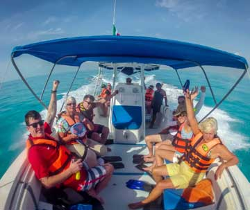 High Level of Safety for the Isla Mujeres Excursion