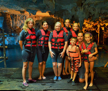 Family excursions in Riviera Maya excursions