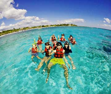 Family excursions in Riviera Maya