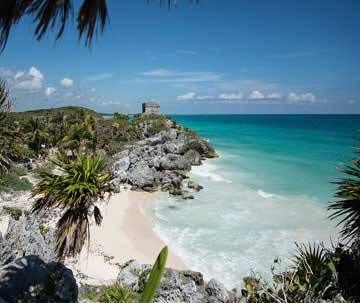 The Mayan Ruins Tour has Stunning Natural Views