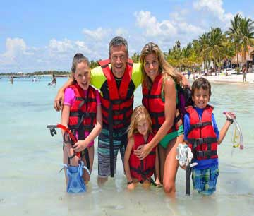 Snorkel with Turtles in Akumal is Fun for the Whole Family